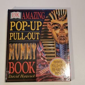 3 for $25 💘 POP-UP, PULL-OUT MUMMY BOOK!